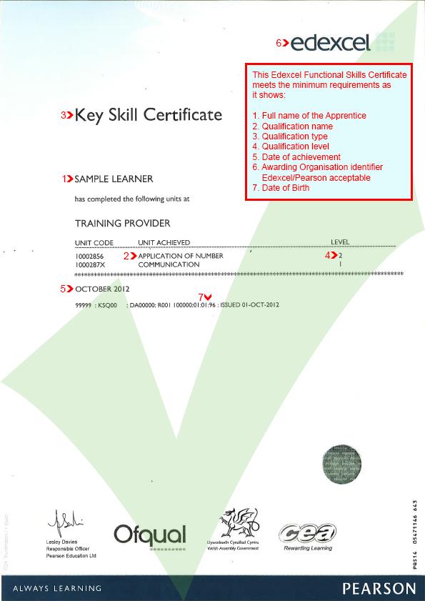 key skills