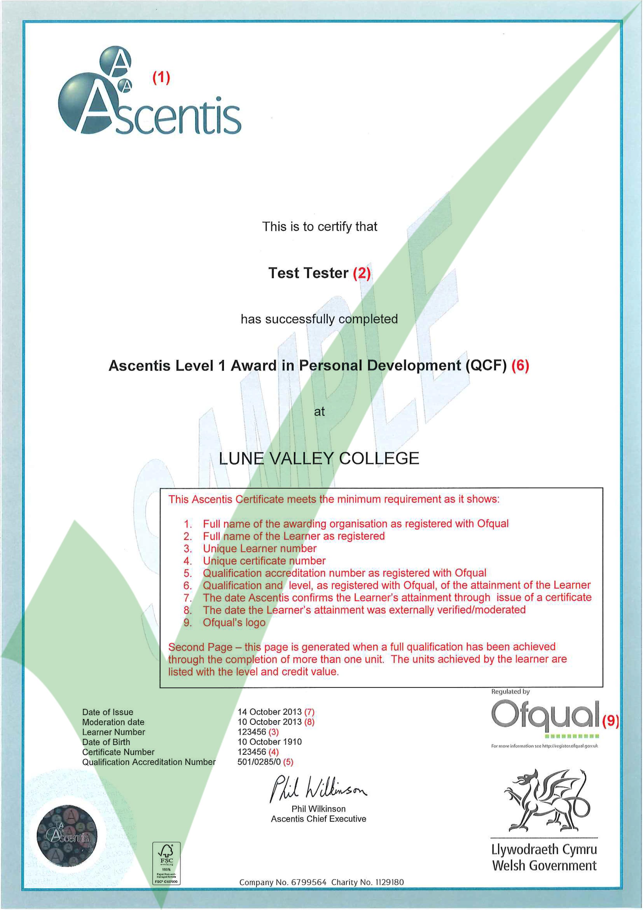Ascentis certificate-2 | ACE - Website